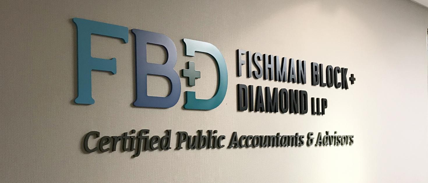 FBD business lobby sign