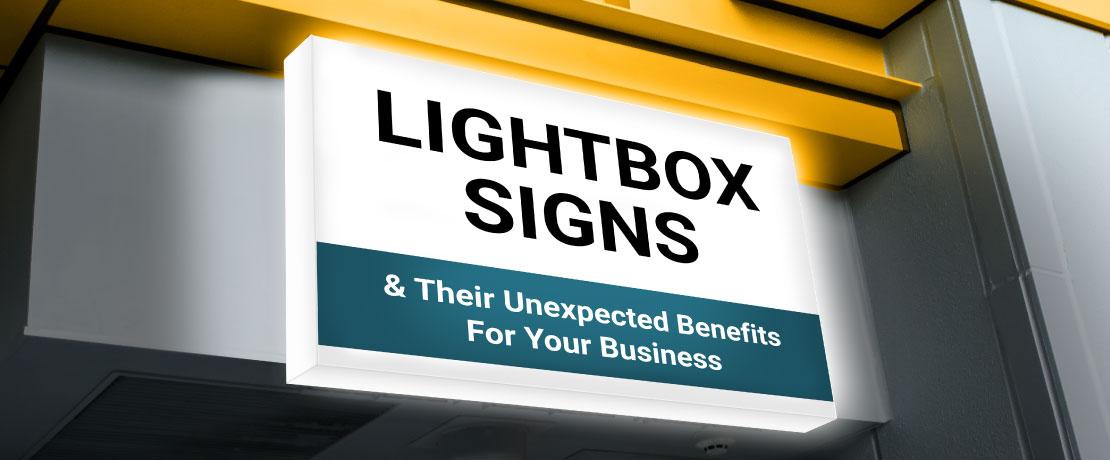 LED Lightbox Sign