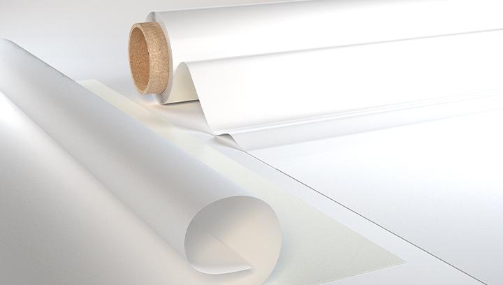opaque vinyl material