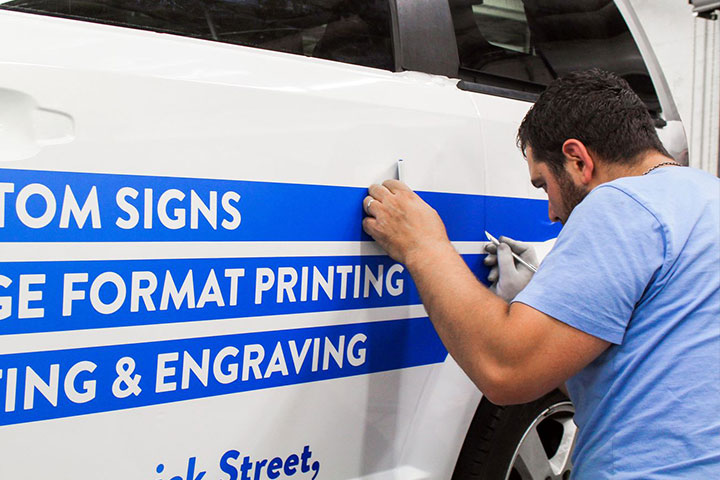 lettering replacement
