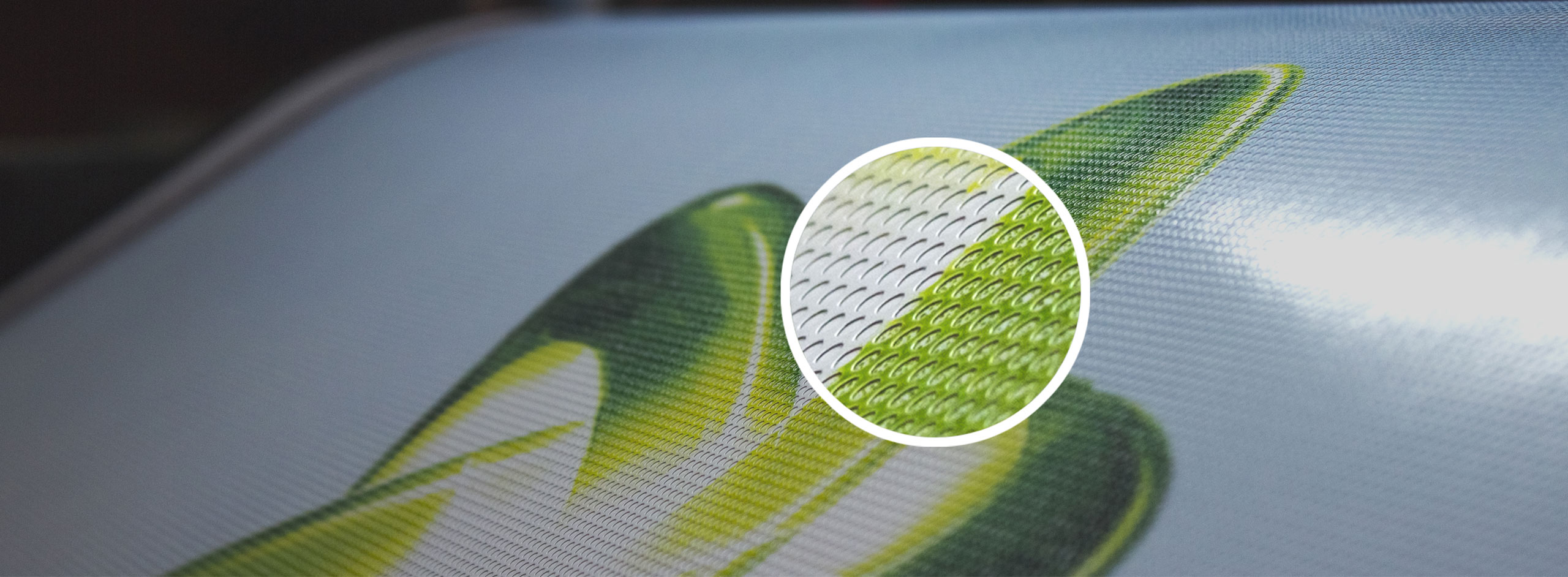 see thru perforated decals