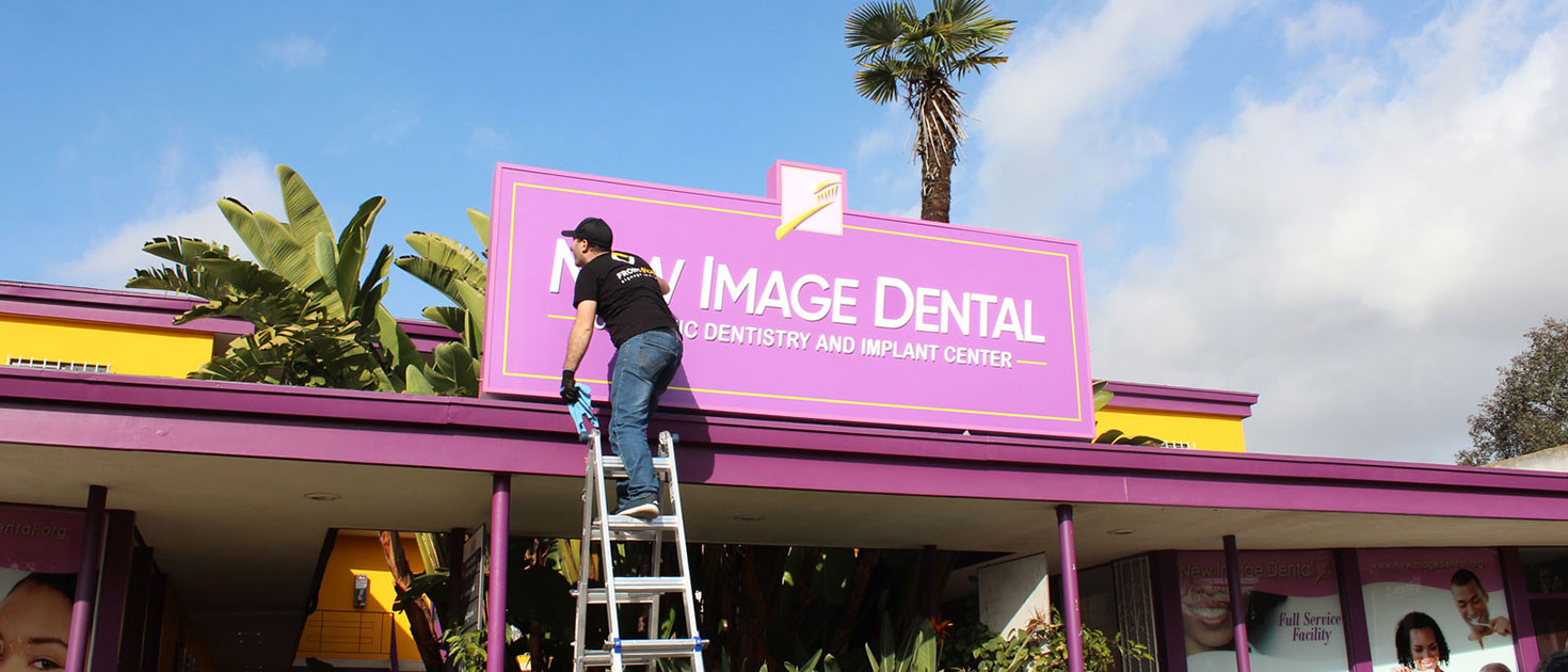 sign repair services