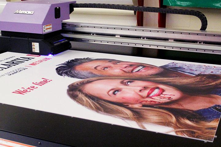 signage printing process
