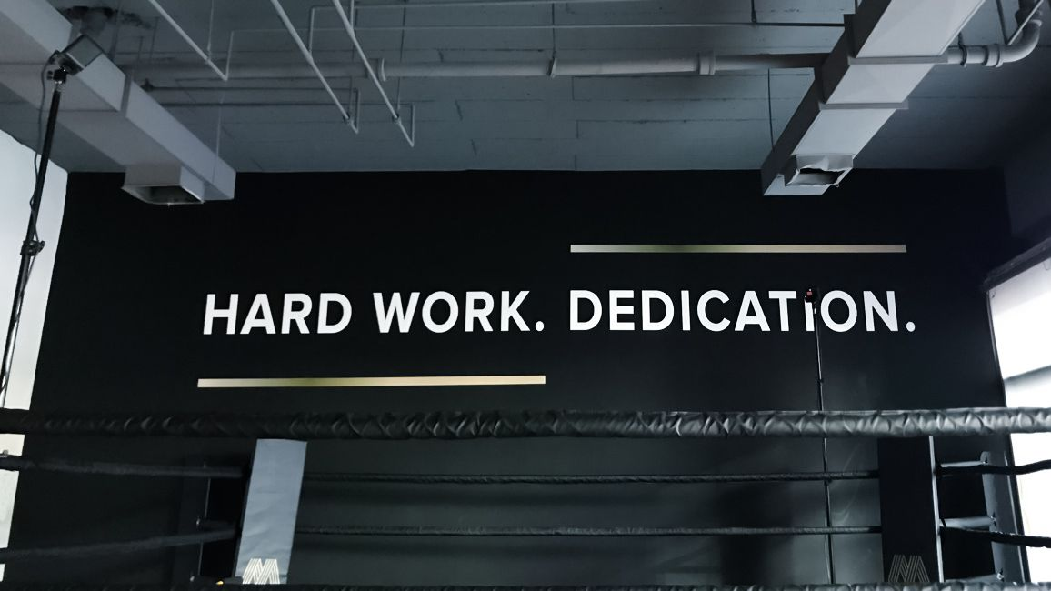 Acrylic Letters Motivational Quote