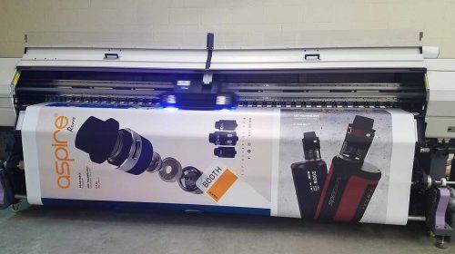 Aspire banner printing