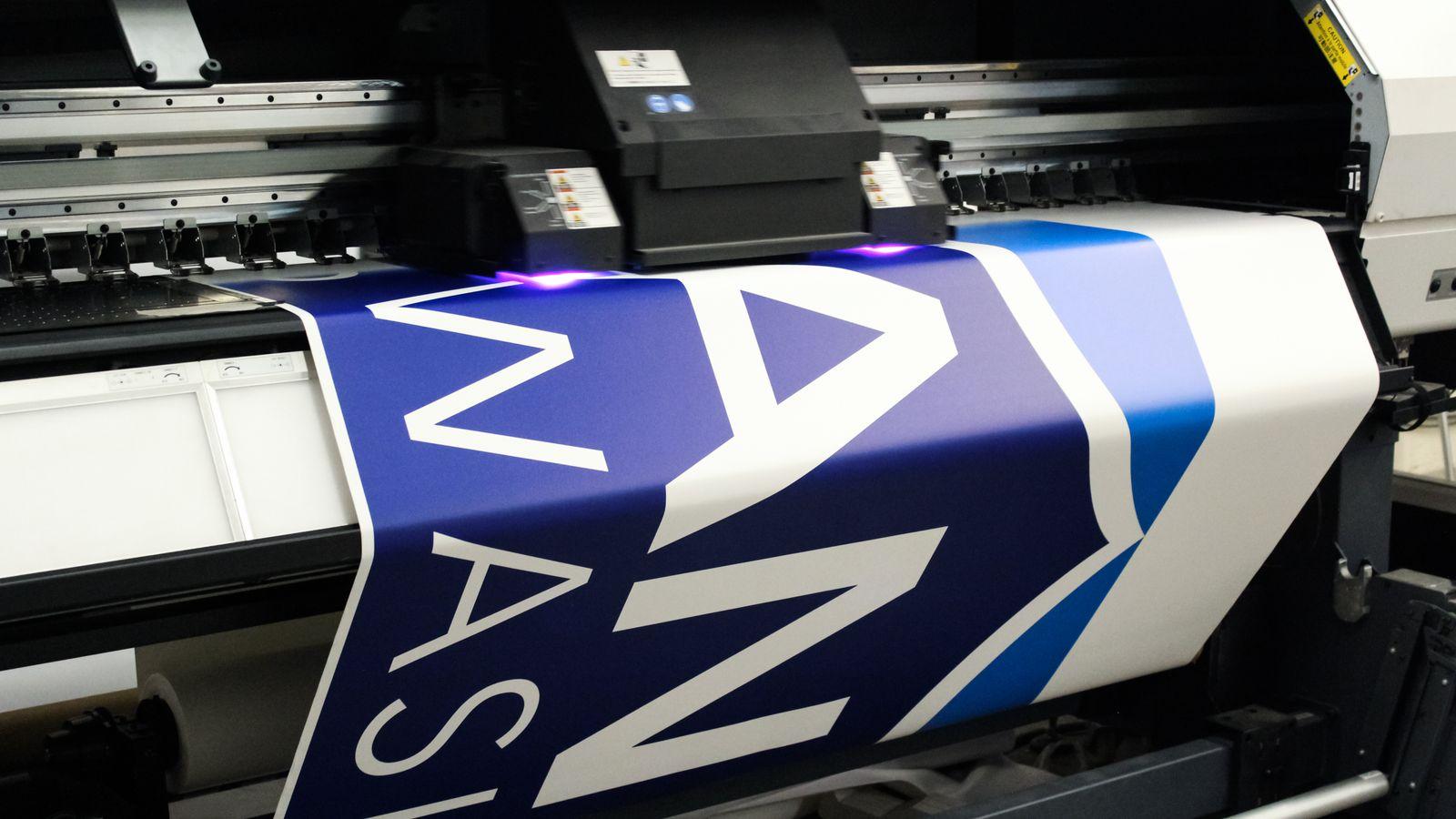 Backlit Vinyl Printing Process
