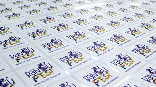 Bantu Fest Stickers