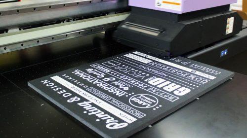 Black Foramboard Direct Printing