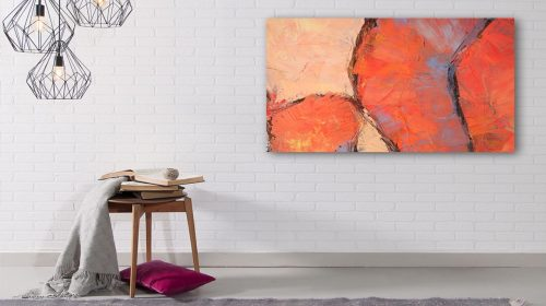 Canvas wall art for interior decor