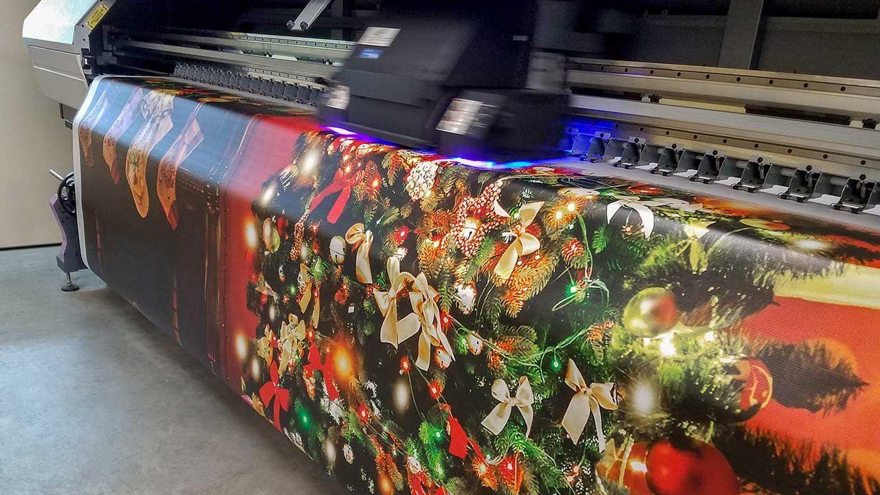 Christmas Vinyl Banner printing