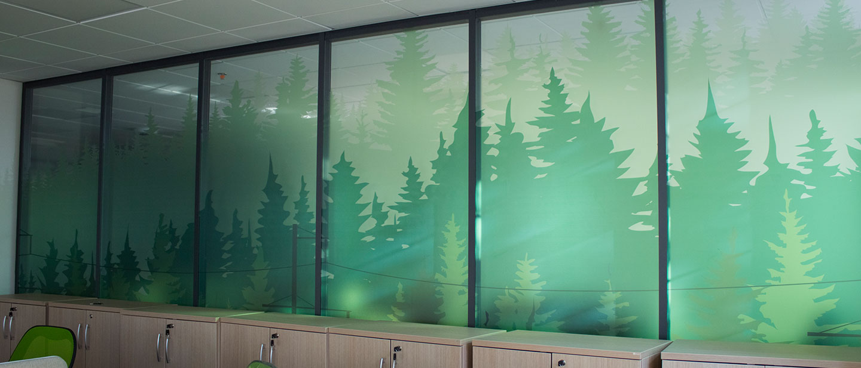 Clear Vinyl Window Decals