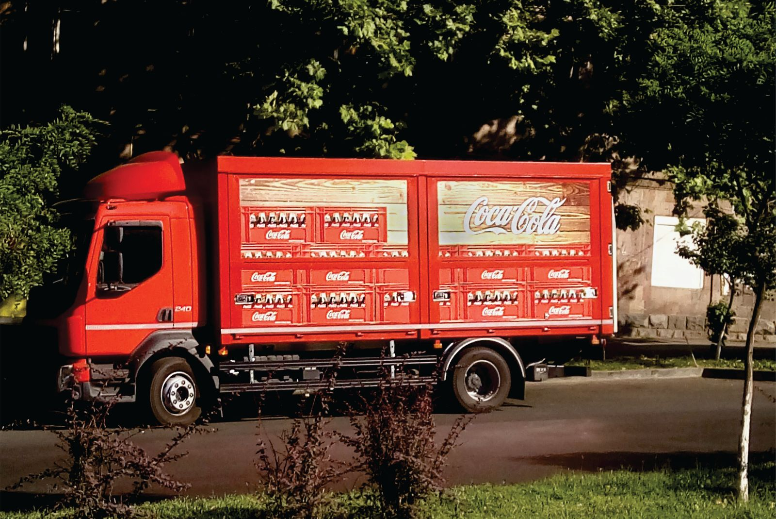 Coca Cola Truck Wrapping