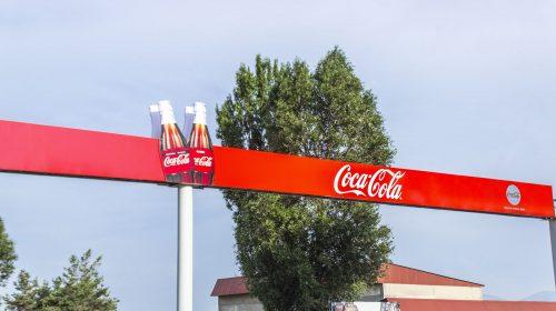 Coca Cola Vinyl Banner