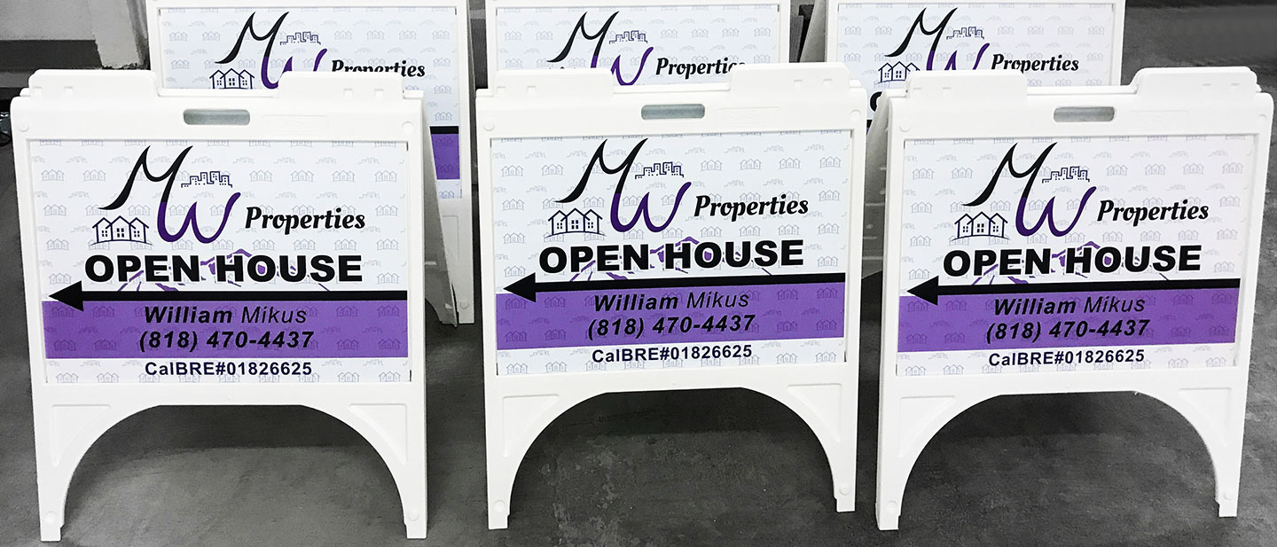 Coroplast A Frame Signs