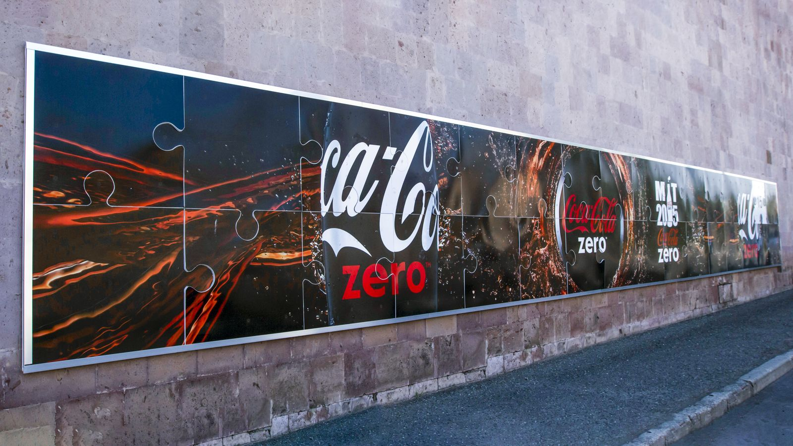Custom Coca Cola Sign