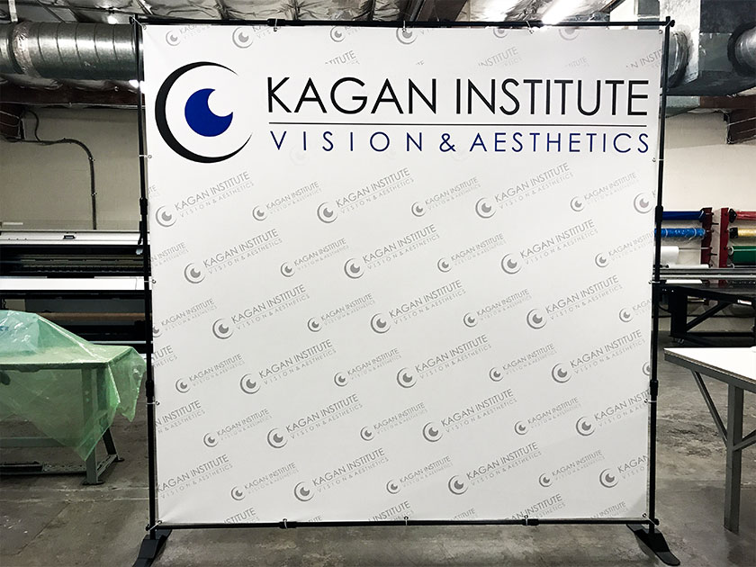 Custom Printed Telescopic Banner