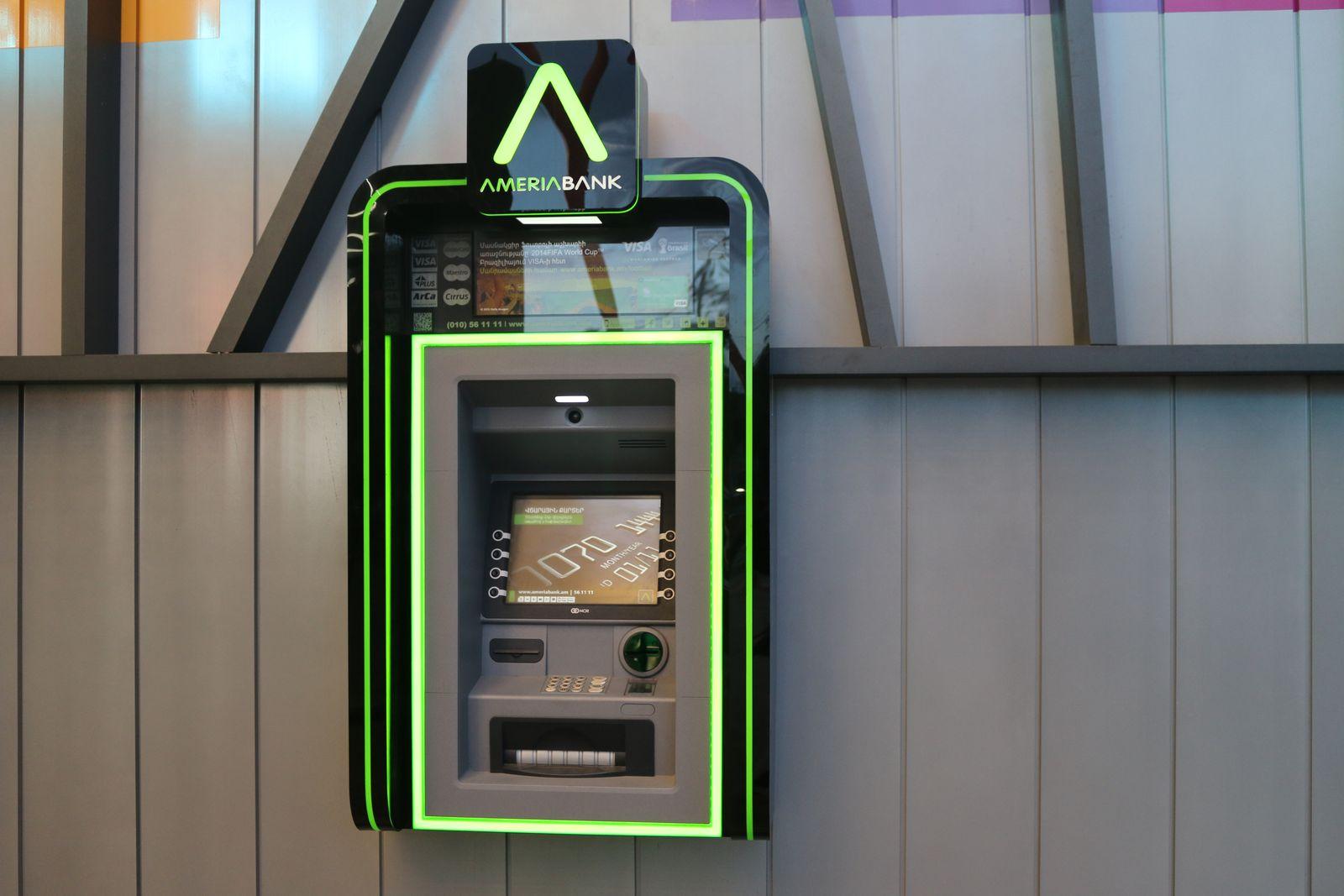 Custom made ATM Sign