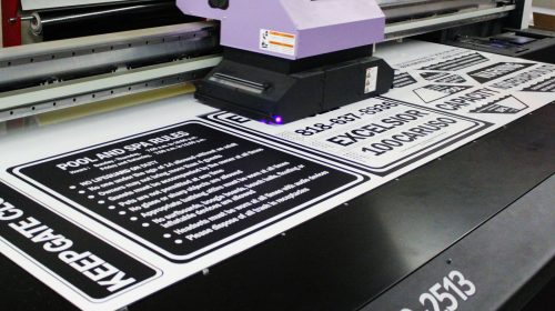 Dibond Safety Signs Printing