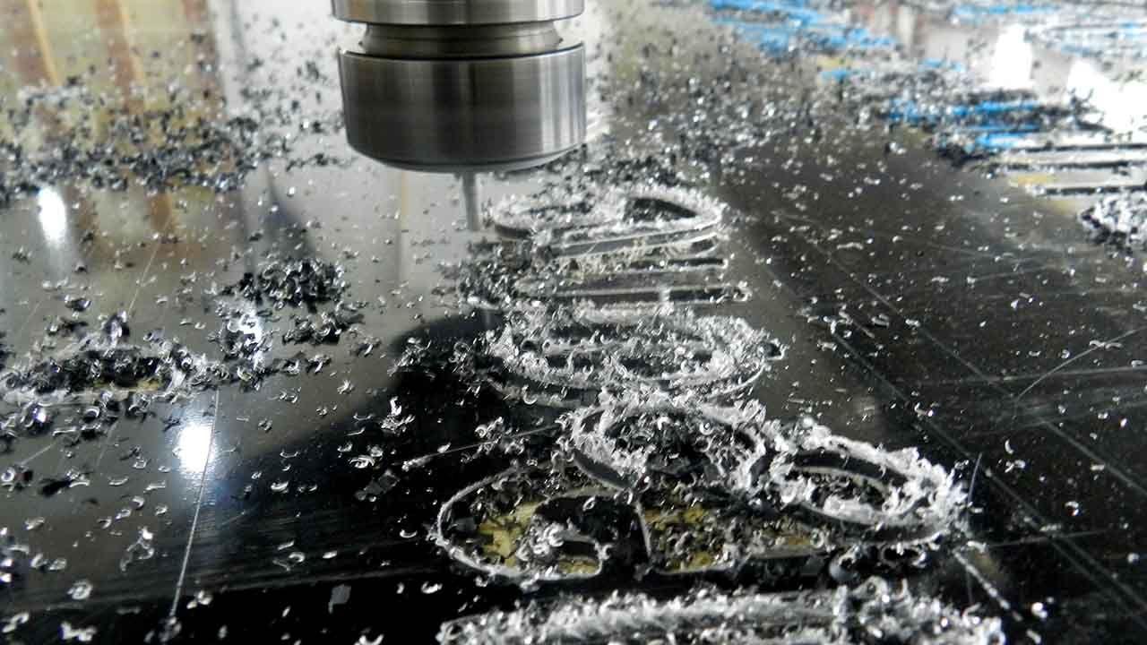 Dibond material cutting process