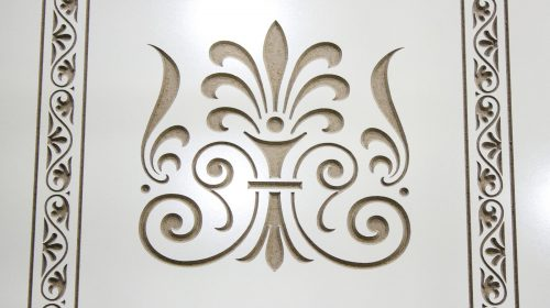 Engraved Plywood Sign