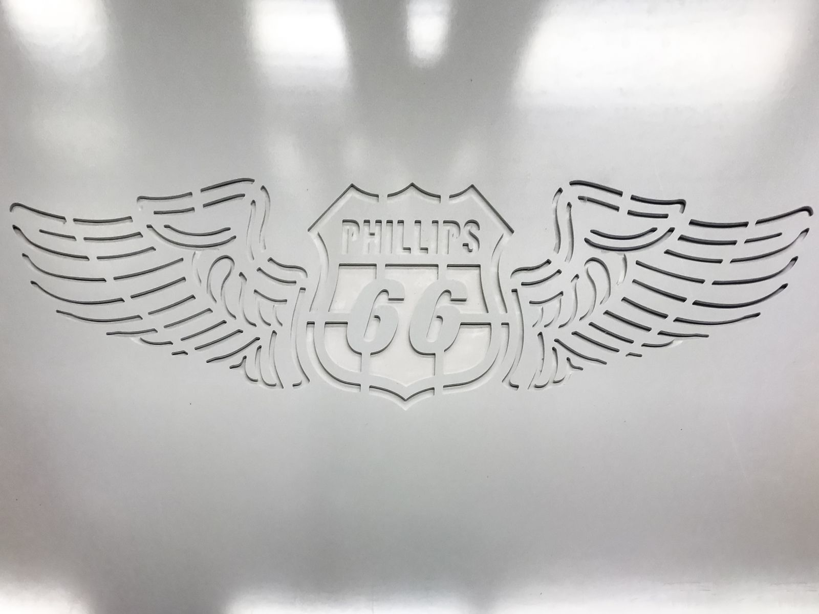 Engraved Styrene Sign