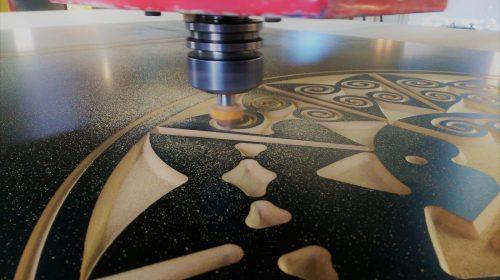 Engraving a custom sign