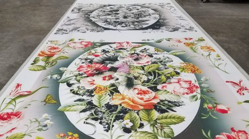 Flowery canvas prints