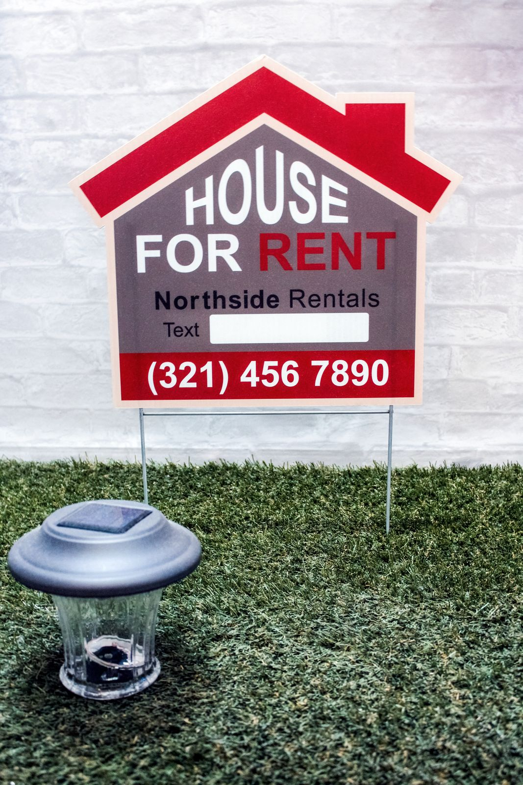 For House Rent Sign