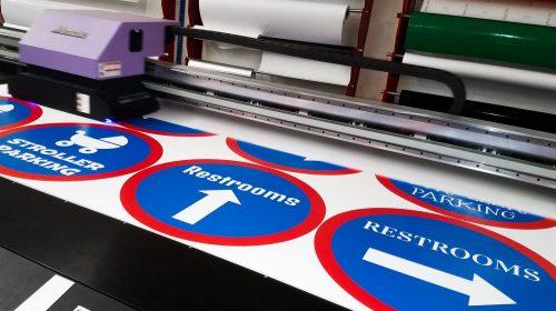 Gatorboard printing process