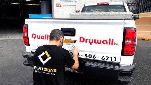 Installation of Vehicle Wrap
