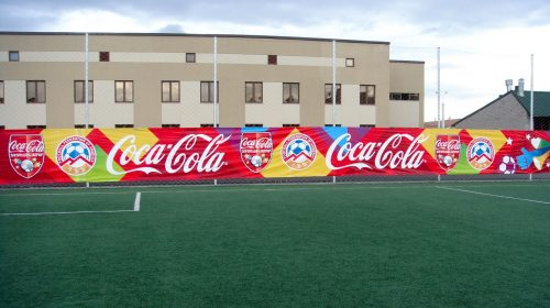 Large Coca-cola Banner