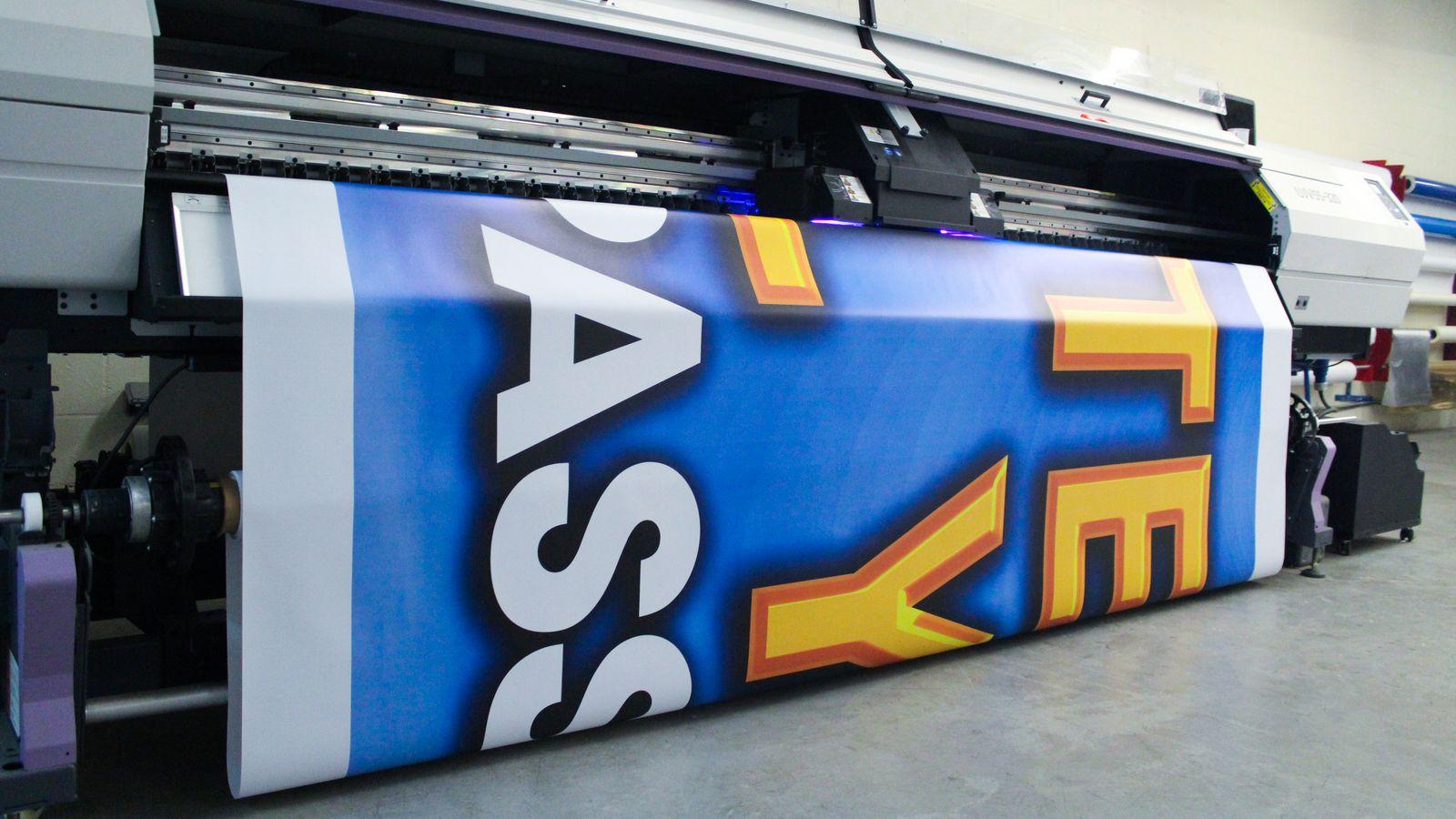 Large Scale Vinyl Banner