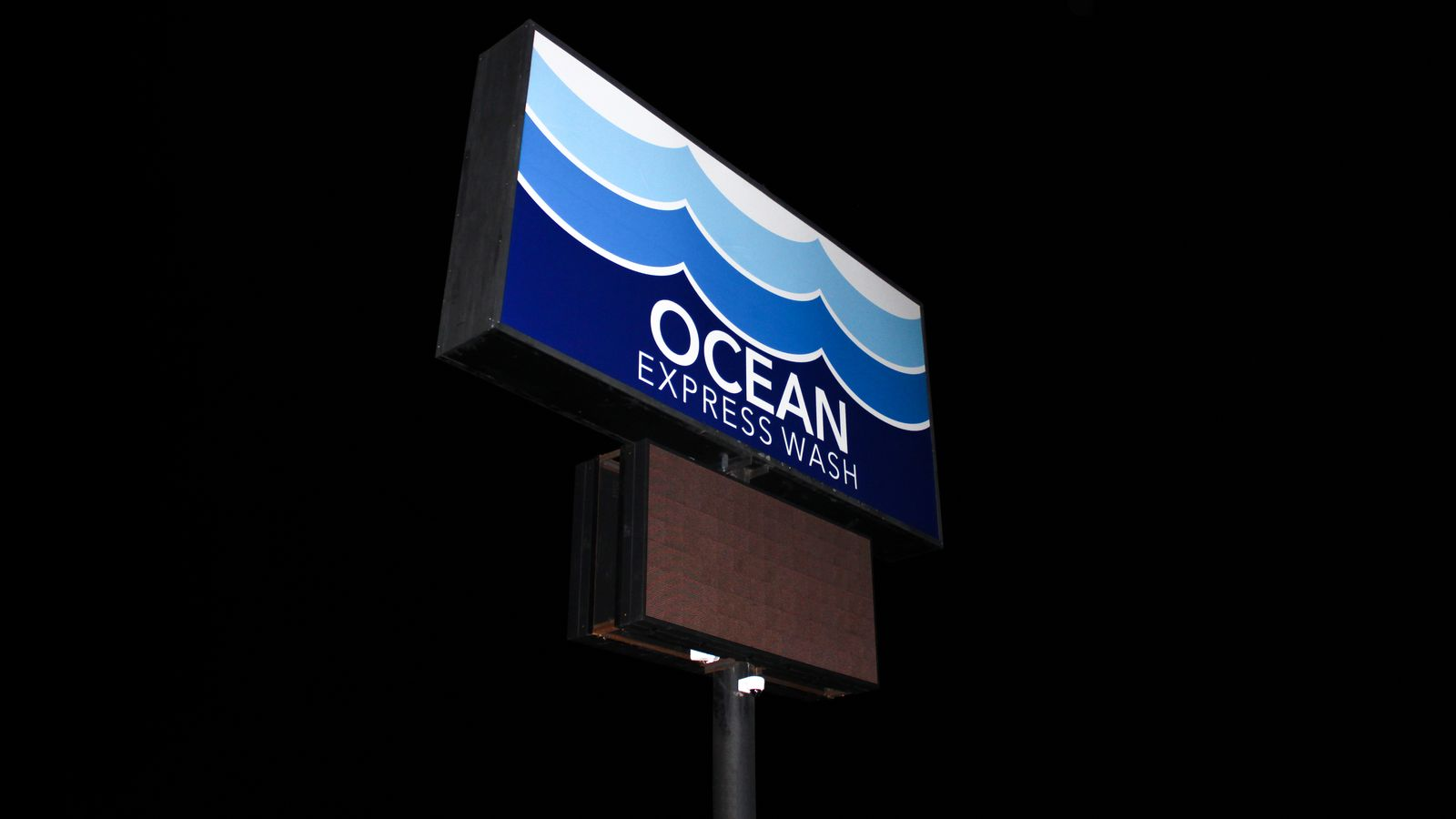 Lexan lightbox sign
