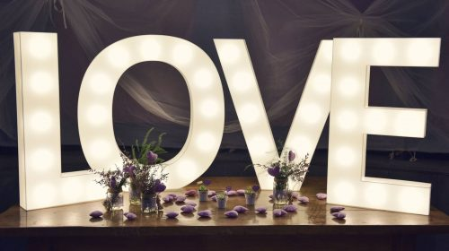 Love Decorative Illuminated Letters