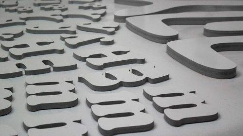 PVC 3D Letters
