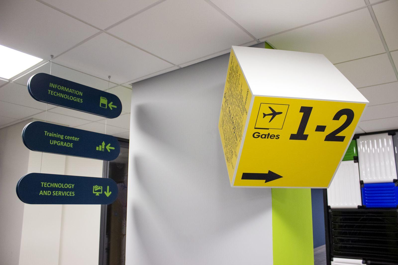 PVC Interior Sign
