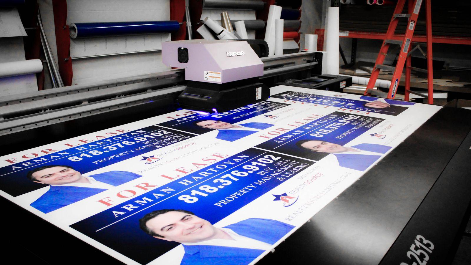 PVC Sign Printing