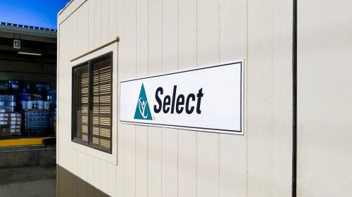 PVC outdoor sign