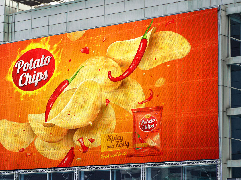 Promotional Mesh Banner
