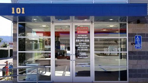 Storefront Opaque Vinyl Lettering
