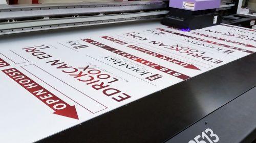 Styrene board direct printing