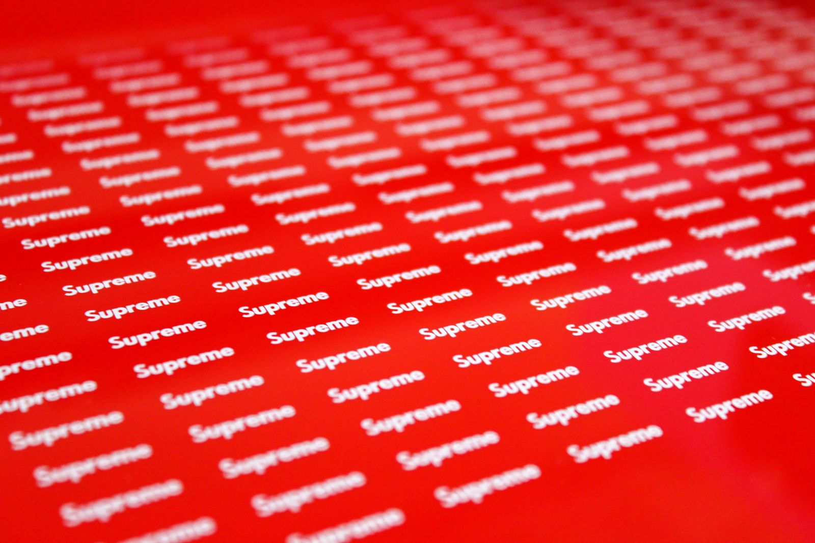Supreme Opaque Vinyl Stickers