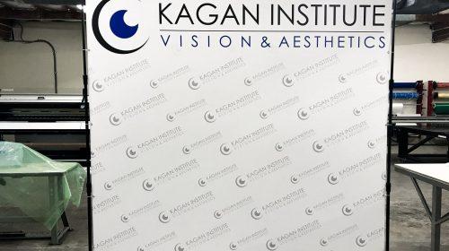 Telescopic vinyl Banner