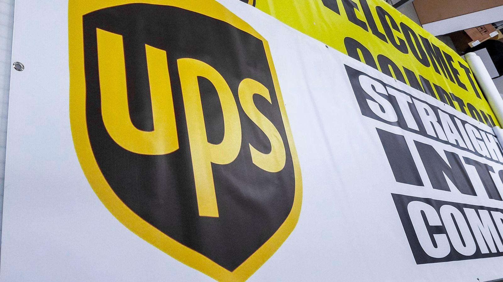 Ups Vinyl Banner
