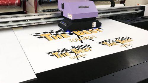 Vehicle Wrap printing process