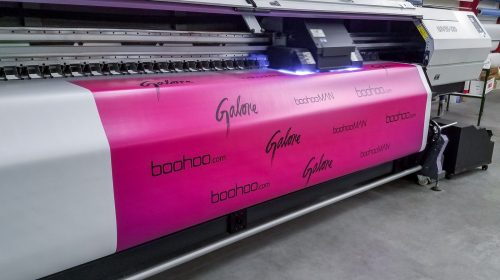 Vinyl Banner UV Printing Process