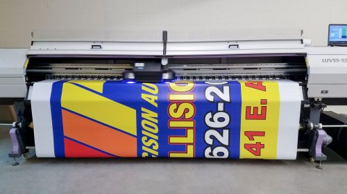 Vinyl banner Digital printing