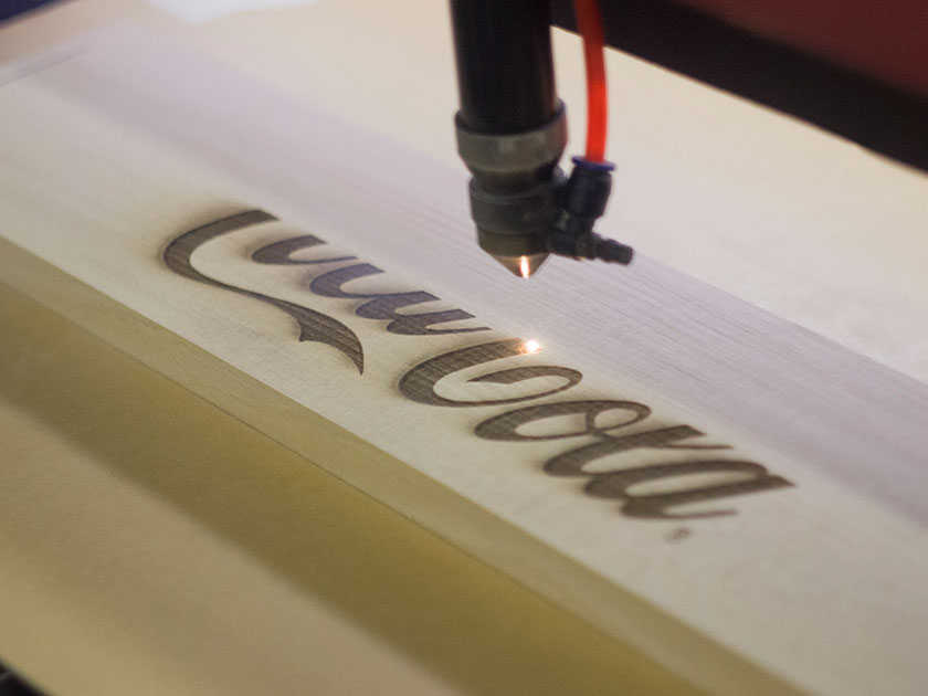Wood Laser Etching