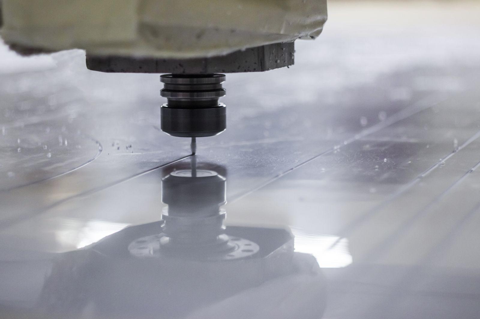 aluminum cutting process