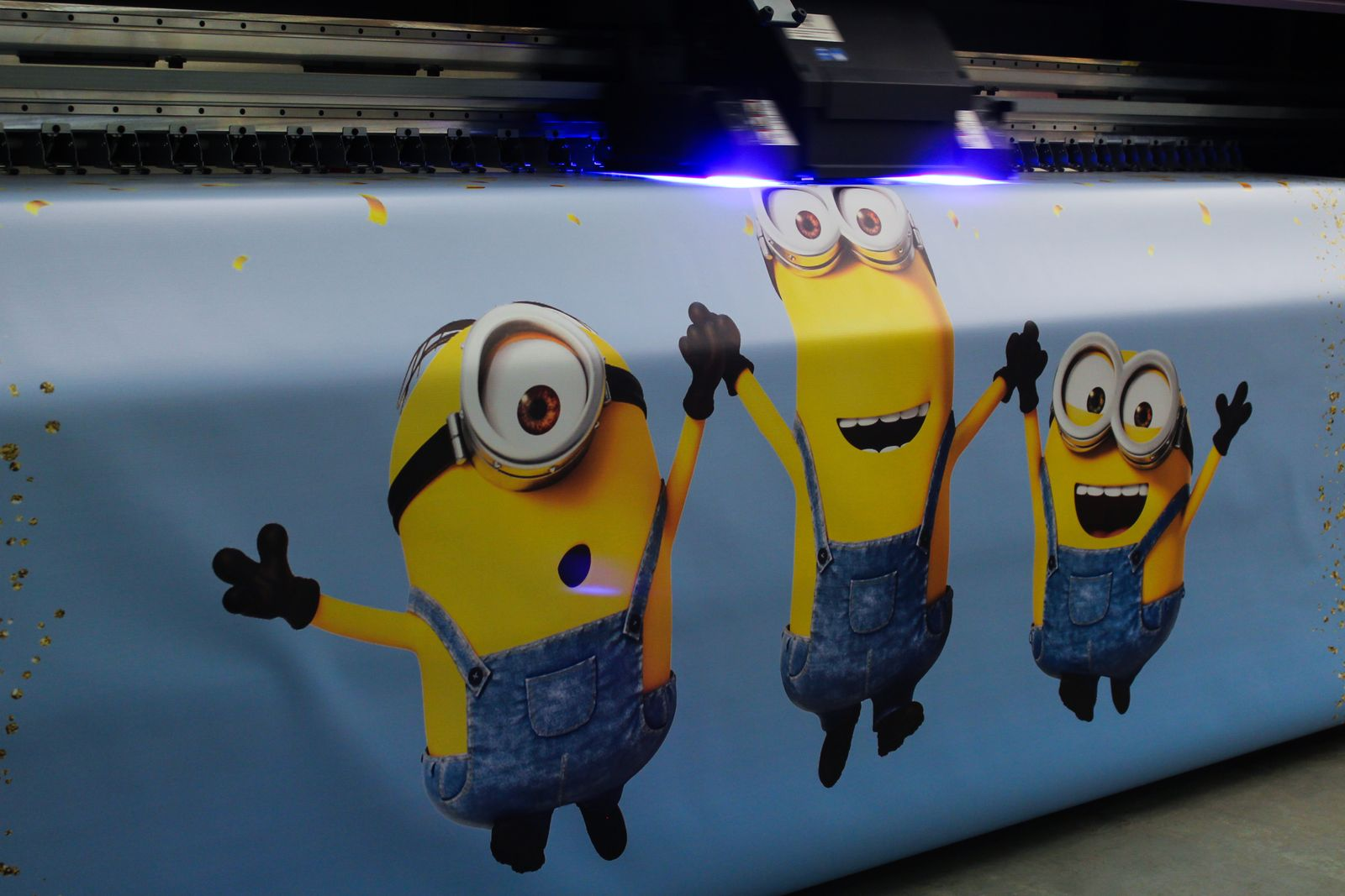 banner printing with minions